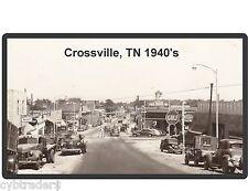 Crossville TN Tennessee GULF Gas Station Refrigerator / Tool Box Magnet