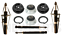 For E83 X3 Front+Rear Struts Suspension Kit w// Strut Mounts /& Gasket /& Coils