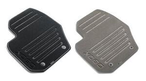 genuine volvo xc60 off black sport carpet floor mats oe. Black Bedroom Furniture Sets. Home Design Ideas