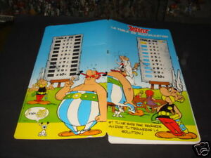 Uderzo Asterix Et La Table De Multiplication 1992 Ebay