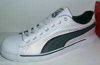 Puma Benny Hoopster White Canvas Shoes Mens