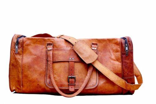 Weekend sport Bag Gym cuir semainesac couchagegrand de Genuine pour Sac Vintage Large de véritable Luggage de Duffle 754242304654Men's Overnight en pofin Leather vintage hommes20 754242304654 J3ulKc1TF5