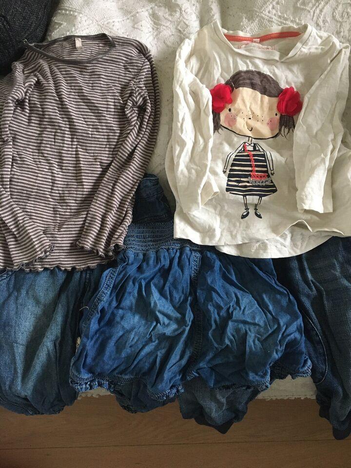 Blandet tøj, 2 bluser og bukser , Pomp de lux og Benetton