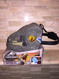 Jurassic World Chomp /'N Roar Velociraptor Blue Mask
