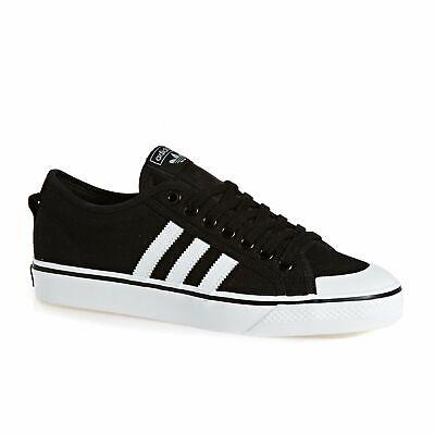 Adidas Originals Nizza Footwear Scarpe-nero Bianco Tutte Le Taglie-mostra Il Titolo Originale