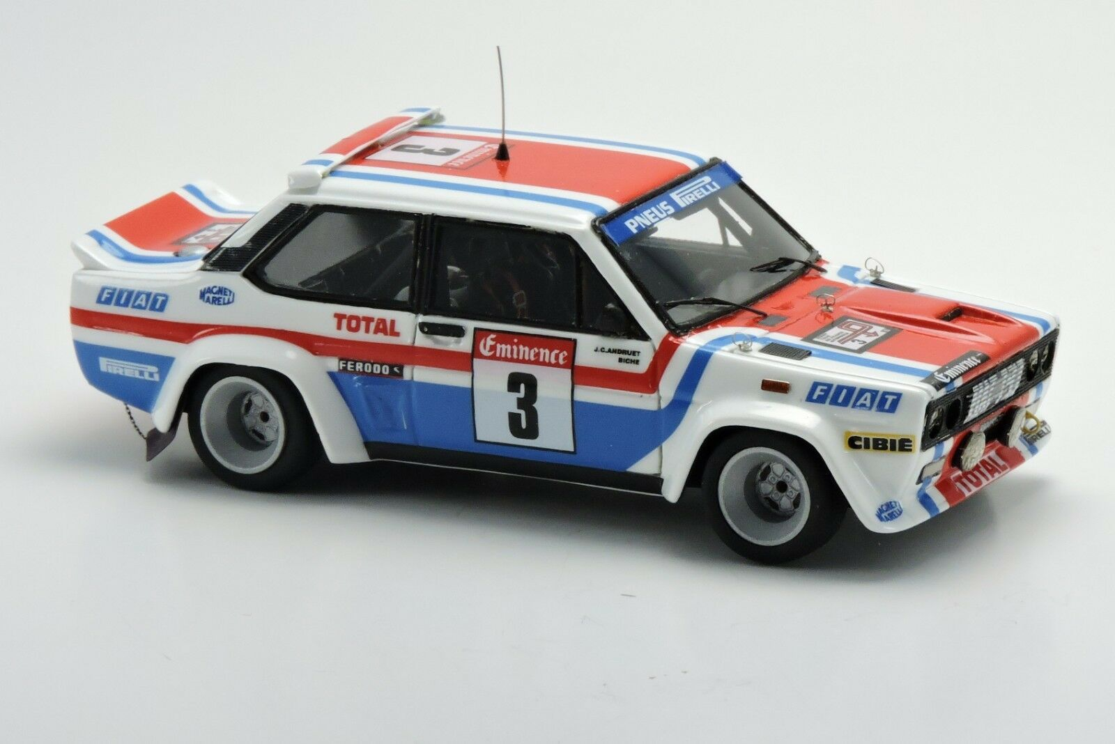 kit Fiat 131 Abarth Fiat France  3 Tour de France 1978 - Arena Models kit 1 43