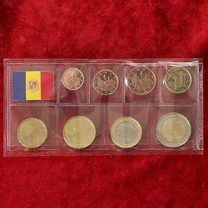 Andorra Münzen Coins 1 Cent 2 Euro Kursmünzensatz Kms Unc Bu St