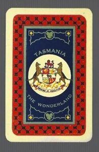 Playing Swap Cards  1 VINT TASMANIA The Wonderland AUSTRALIA  EARLY SOUVENIR 187