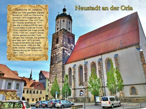 Neustadt an der Orla Stadtkirche St.JohannisThüringen 143