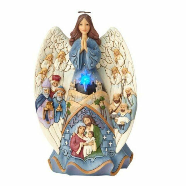 Jim Shore Nativity Angel Collectible Ornament