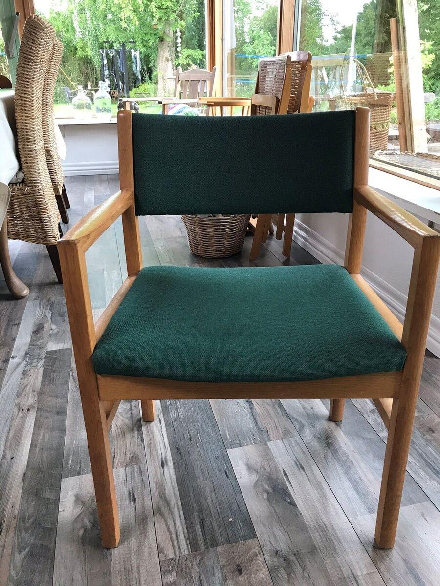 Lænestol, træ, Sorø stolfabrik, Rigtig fed lænestol fra S