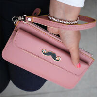 2017 new fashion lady women purse long wallet handbag card holder mobile bags PU