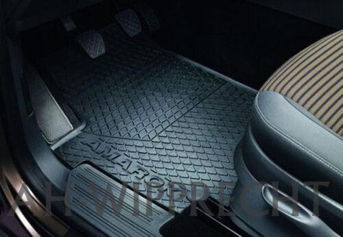Original VW Fußmatten Amarok 2H Gummi Matten v+h Gummimatten Matten 4-tlg OEM