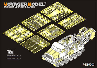 1//35 Russian BTM-3 High-Speed Trench Digging Vehicle Detail for Trumpeter #09502