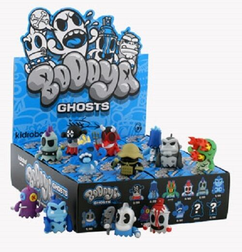 KIDROBOT MAD BOOOYA GHOSTS 3  Series SEALED CASE 20 blind boxes -2009