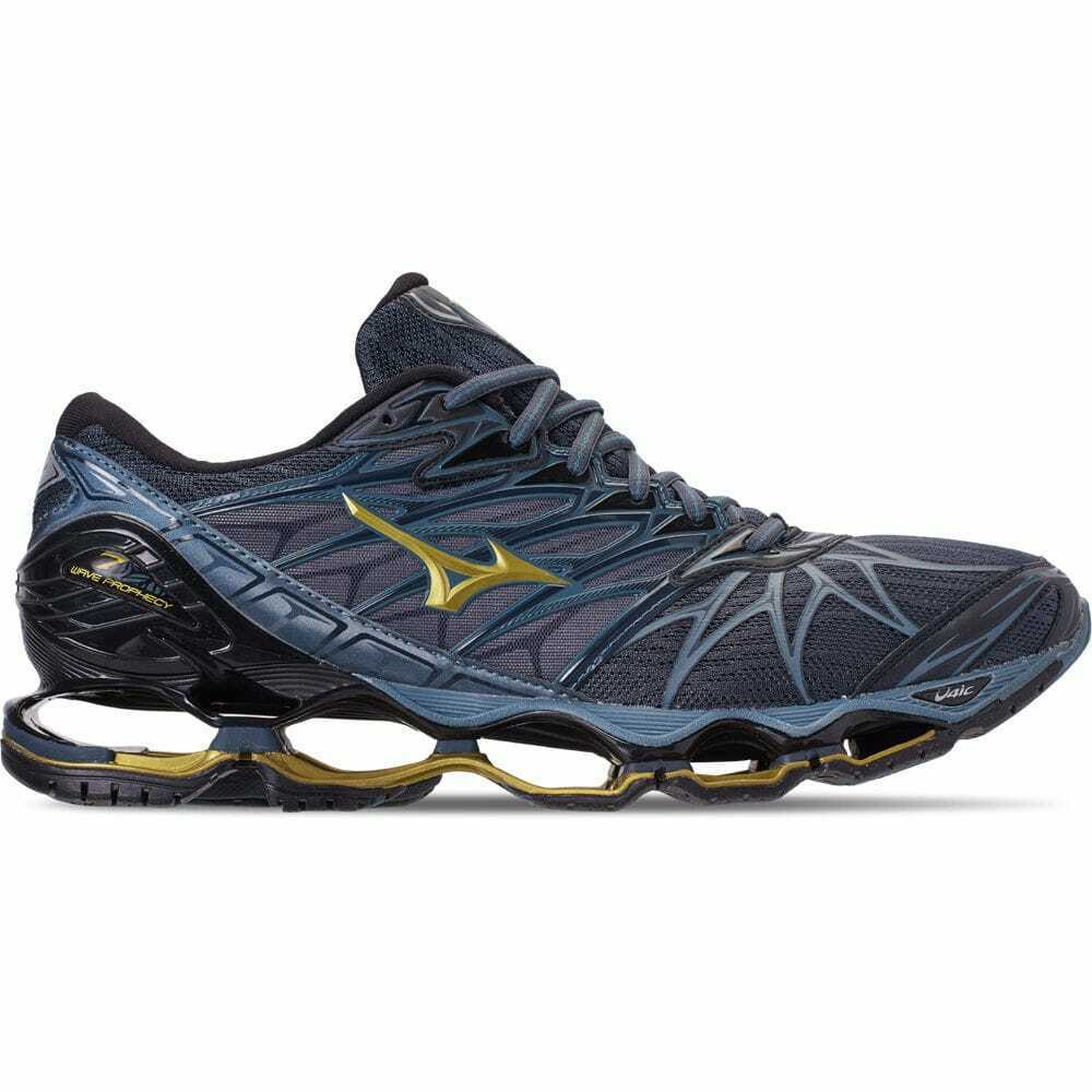 Men's  Wave Prophecy 7 Running shoes Black Ombre bluee 410968 977