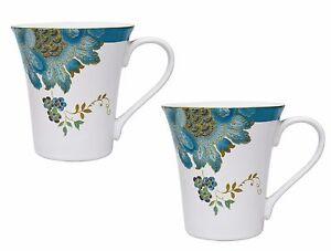 222-FIFTH-Eliza-Teal-Mugs-Set-of-Two-10-fl-oz-each