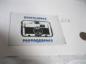 VINTAGE-1970-039-S-UNDERWATER-PHOTOGRAPHER-SCUBA-DIVING-DIVE-DIVER-STICKER-DECAL