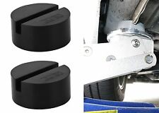 Pair DEDC Universal Slotted Frame Rubber Jack Pad Medium Size New Free Shipping