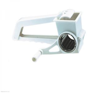 Hecho por el acero inoxidable de Apollo /& Plástico Blanco Tambor rotativo Rallador