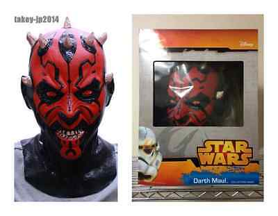 F//S Ogawa Studio Darth Maul Full Face Rubber Mask Cosplay Star Wars from Japan