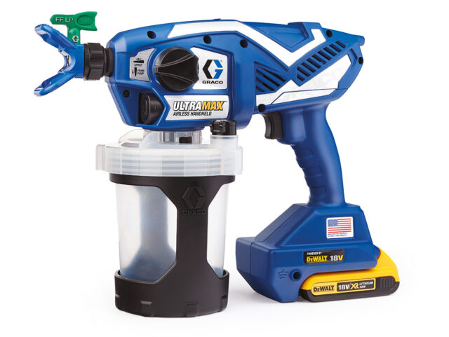 Graco Ultra Max Handheld HH cordless - Professionelles Hand-Airless-Spritzgerät