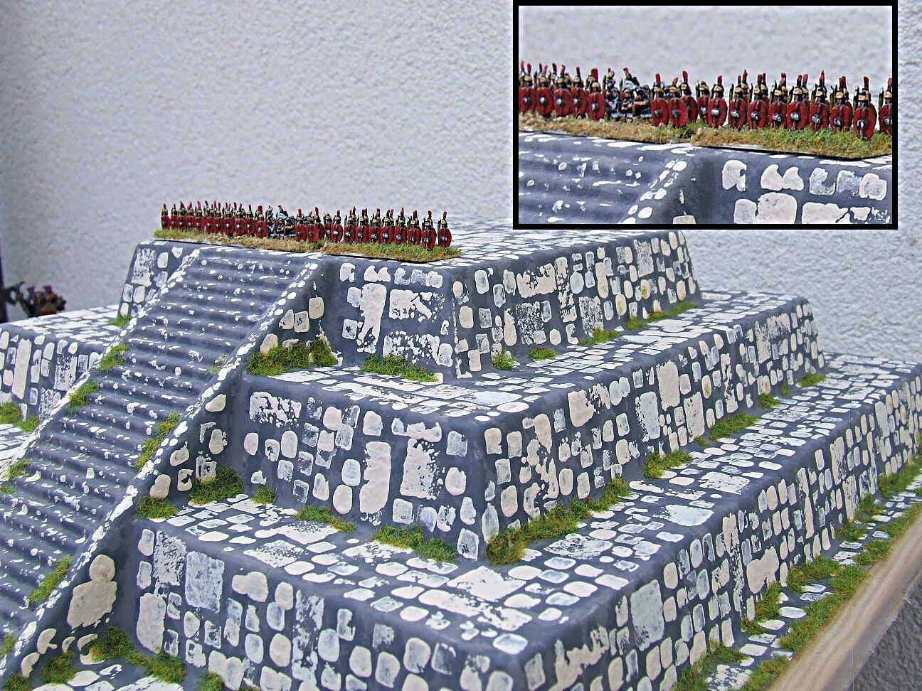 6mm 15mm 28mm PYRAMID  Over 30cm square  Pro-Painted