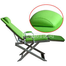 Fast Free Shipping Dental Dentist Portable Folding Chair Green Color Sinodental