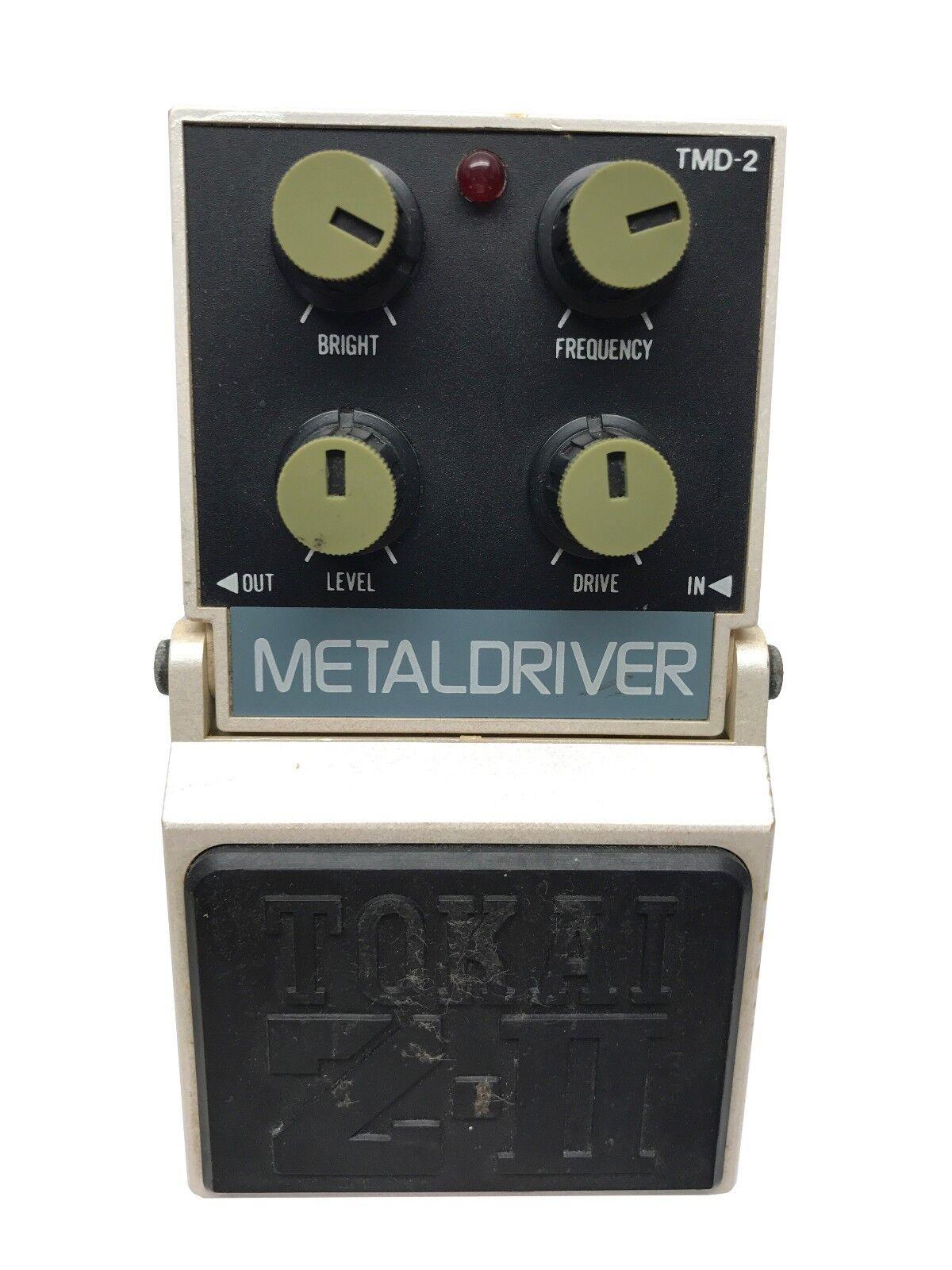 Tokai TMD-2, MetalDriver, Z-II Super Effects series, MIJ, 1980's, Vintage Effect