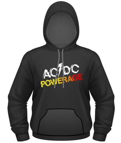 AC//DC Official Mens Hoodie Powerage