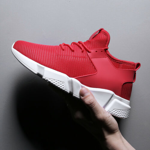 8cm Increased Height Shoes Men Running Shoes Fashion Sports Breathable Sneakers hot sale