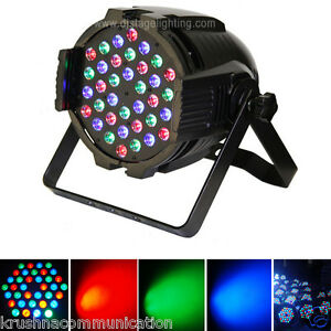 PAR-LED-36-X-1W-36W-RGB-LIGHTING-DJ-PARTY-DISCO-SPOT-LAMP-STAGE-LIGHT-DMX-SHOW