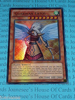 Guardian Eatos 1st X 3 LC03 Ultra Mint English  New yugioh Cards