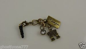 I-love-you-bling-antique-goldton-charm-cell-phone-fits-ipad-ear-cap-dust-plug