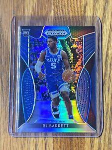 8-RJ-Barrett-2019-20-Panini-Blue-Silver-Prizm-Draft-Picks-Rookie-RC-Card-66