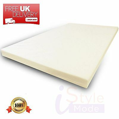 Memory Foam Orthopaedic Mattress Topper Available in All Sizes /& Depths