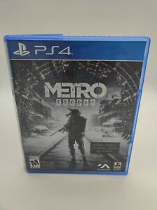 Metro-Exodus-amp-Metro-Redux-Bundle-PS4-Sony-PlayStation-4-2019-Complete-Tested