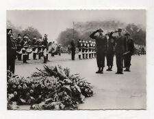 PHOTO Paris Guerre 39-45 Général Bradley Général Koenig Tombe Soldat Inconnu