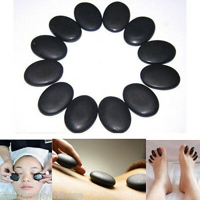 12pcs X Hot Stone Basalt Oiled Massage Stone Specialty Stones Rocks Small Stones