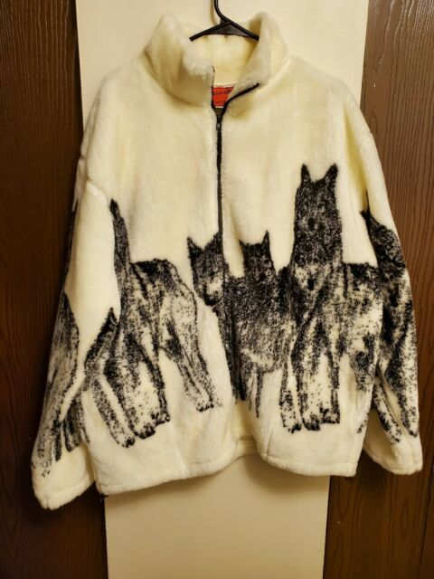 Wolf Wolves Howling Moon The Mountain Pullover Hoodie Sweatshirt Jacket S 2XL