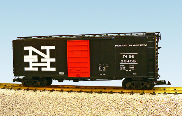 USA Trains G Scale R19204a NH 40 FT. W 6FT. PANEL SUP DOO schwarz ORA PS1 Box voiture