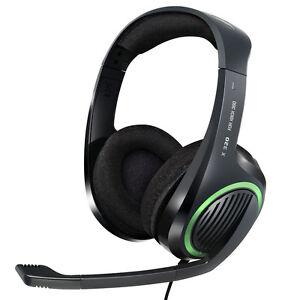 XBOX-360-Headset-VON-Sennheiser-mit-Mikrofone-Gaming-Kopfhoerer-NUR-FUR-XBOX-360