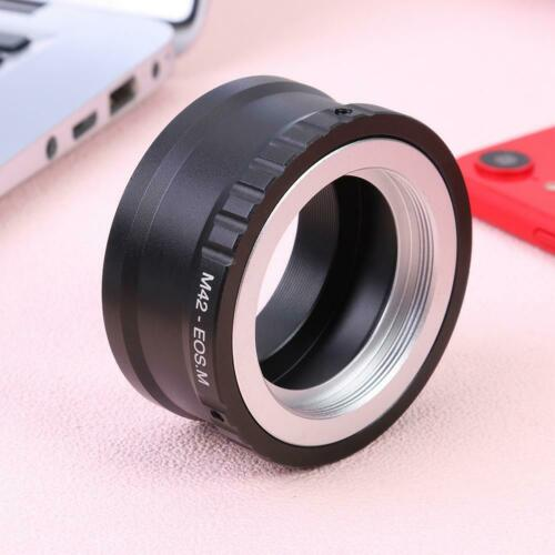 UK M42-EOS M Mount Adapter Ring for M42 Lens to Canon EF-M Mirroless Camera