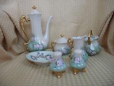 BAVARIA VINTAGE Hand Painted   7 PC CHOCOLATE / TEA SET,