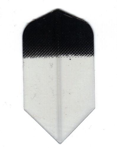 Amerithon The Best Dart Flights 5 Black Tint to Clear Amerithon Slim Sets
