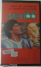 VHS=MEXICO 86 AZIONI,GOL,PROTAGONISTI DEL CAMPIONATO MONDIALE=1988 VIDEOBOX