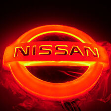 4D Car LED Real Logo Light Auto Badge Rear Emblems Lamp For NISSAN LIVINA Cedric