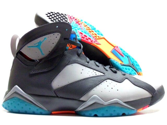 brand new 8b253 3e05e Nike Air Jordan 7 VII Retro Barcelona Days Bobcats Grey 304775-016 Sz 14