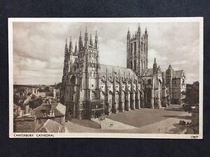 RP-Vintage-Postcard-Kent-19-Canterbury-Cathedral-Salmon