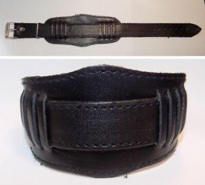 Bracelet Pour Montre Cuir Noir 18mm Urss 1980's Officiel 2019